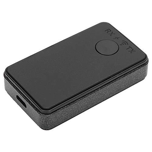 Cerlingwee Modos RX TX 2 en 1 Bluetooth5.0 Transmisor de Audio Bluetooth de Ultra Baja latencia Tableta portátil para teléfono con Auriculares