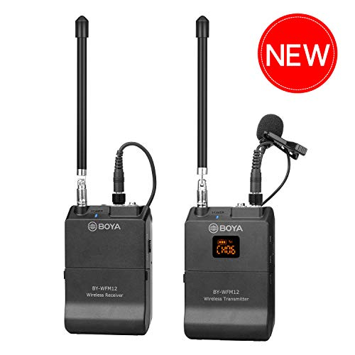 Boya BY-WFM12 VHF Lapel Mic System