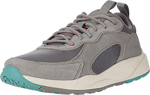 Columbia Women's Pivot Hiking Shoe, Stratus/Juicy, 9