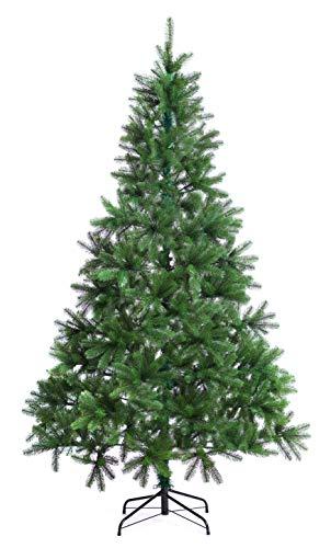 Best Artificial – Premium-Weihnachtsbaum für den Innenbereich, besonders naturgetreue Optik, mit Klappmechanismus und über 1100 Spitzen aus 100% PE