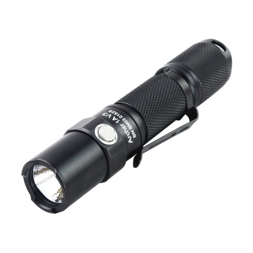 ThruNite Archer 1A V3 200 Lumens Reliable AA Flashlight, Cool White
