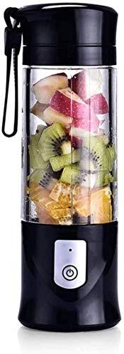 FAGavin Licuadora portátil tamaño personal licuadora exprimidor taza para zumo de hielo triturado, batido recargable, licuadora para picnic al aire libre, viajes, gimnasio
