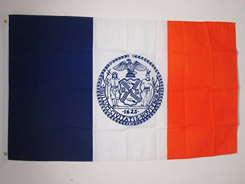 AZ FLAG Flagge New York City 150x90cm - New York City Fahne 90 x 150 cm - flaggen Top Qualität