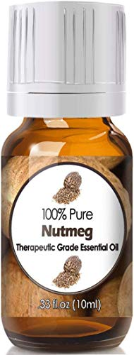 Nutmeg Essential Oil for Diffuser & Reed Diffusers (100% Pure Essential Oil) 10ml
