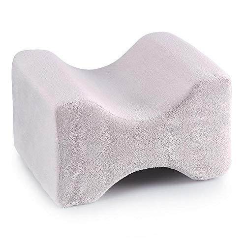 Traagschuim kussen voor benen voor zwangerschap, ter verlichting van pijn bij rugpijn, kniekussen van schuimstof voor heupen, verbetert de doorbloeding voor zijslapers.