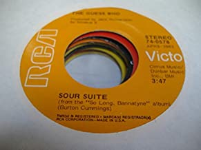 THE GUESS WHO 45 RPM Sour Suite / Life In the Bloodstream