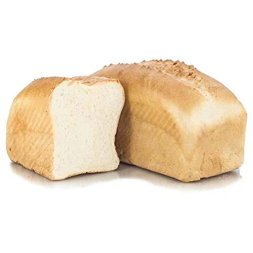 Vestakorn Handwerksbrot, Kasten-Weißbrot 500g - frisches Brot – feinporige Krume, selbst aufbacken in 10 Minuten