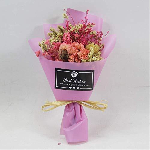 Preisvergleich Produktbild Huishuo Auto - Klimaanlage Entlüften Dekorative Rosen Getrocknete Blumen Aromatherapie Clip Blumen - Bouquet Von Lila