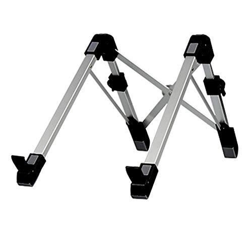 Steellwingsf Laptop Stand,Portable Aluminium Folding Cooling Heat Dissipation Laptop Stand Bracket Holder - Black