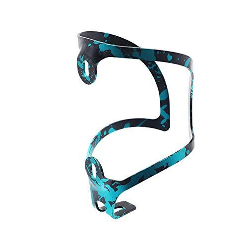 iBaste Portabidones para bicicleta, aleación de aluminio, jaula con tornillos para bicicleta de montaña