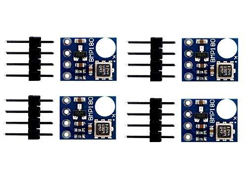 AptoFun BMP180 - 4 moduli digitali per sensore di pressione dell'aria 8%, per Arduino