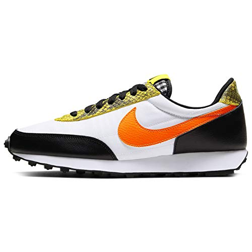 Nike W DBREAK QS, Zapatillas para Correr Mujer, Black Total Orange Dynamic Yellow White, 42.5 EU