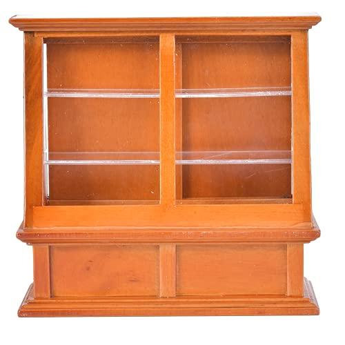 Muebles En Miniatura De Casa De Muñecas, Mueble Para Tartas En Miniatura 1:12 Con Puerta Corredera Para Casa De Muñecas Para Decoración Del Hogar(Color E2)