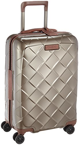 Stratic Leather & More Koffer S, 55 cm, 35 L, Champagne