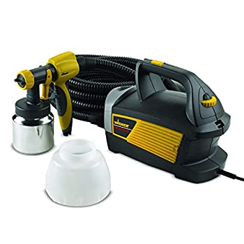 Wagner Spraytech 0518080 Control Spray Max HVLP Paint or Stain Sprayer Complete Adjustability for Decks Cabinets Furniture and Woodworking Extra Container included
