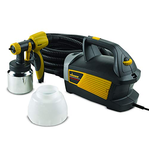 Wagner Spraytech 0518080 Control Spray Max HVLP Paint or Stain Sprayer, Complete Adjustability for Decks, Cabinets, Furniture and Woodworking, Extra Container included