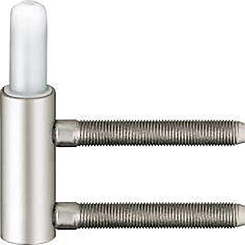 Türband-Rahmenteil Variant V 3400 WF f. gefälzte Türen, Band ø 15 mm, vernickelt ; 1 Stück