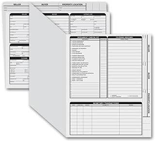 EGP Letter Size Real Estate Listing Folder Right Panel - 50 Folders, Grey