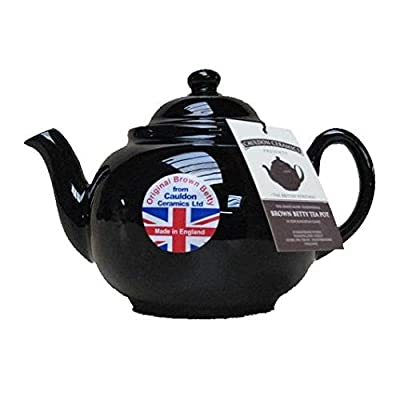 Brown Betty Teapot, 4-Cup in Rockingham Brown