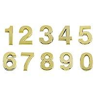 Andux Space 数字ナンバー アドレス 番号札 防水 ドア番号 0-9 10枚セット MPH-02 (5cm)