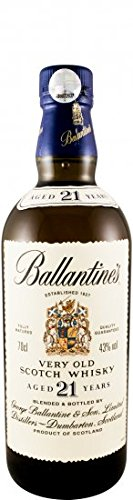 Ballantines 21 years (old label)