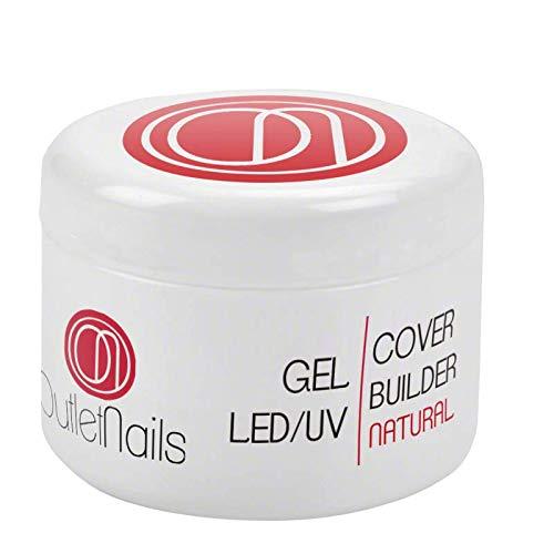 UV Gel Cover Builder Natural 30ml UV/LED - Gel uñas