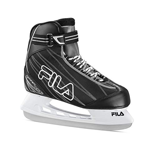 FILA Skates Viper Cf Rec, Unisex Erwachsene Eisschuhe, Unisex, 10419000, schwarz/Silber, 39