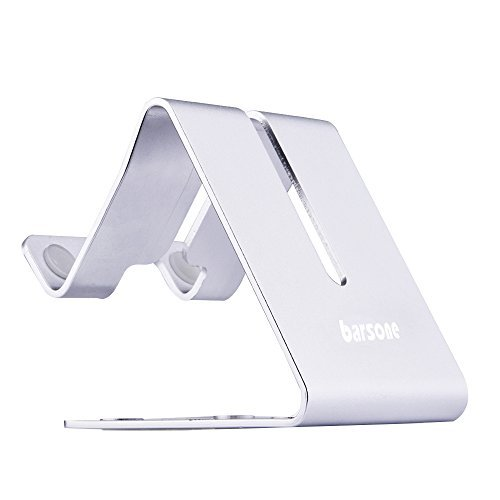 barsone Cell Phone Stand, Aluminium Phone Holder Mount Stand for...