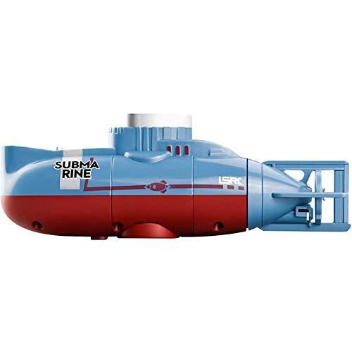 ZHIRCEKE Simulation Mini RC U Boot, Wasserdichtes Tauch Fernbedienung Boot, Wiederaufladbares Elektrisches U Boot Wasserspielzeug, Mini RC Aquarium Kinder Geschenk