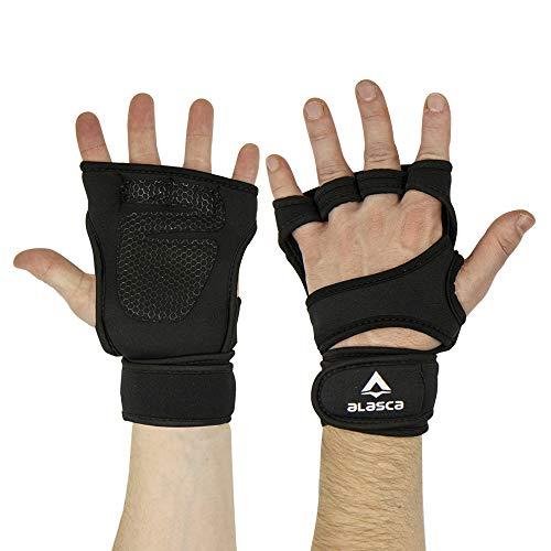 Par de Luvas ForceGrip Alasca. Proteção total para a palma da mão durante Levantamento de Peso, Musculação e Cross Training. Ideal para evitar bolhas e ferimentos. (G)
