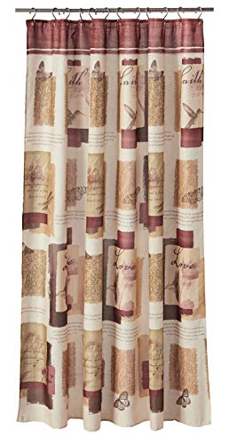 SKL Home by Saturday Knight Ltd. Inspire Shower Curtain, 70X72, Multicolored