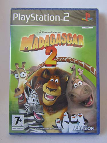 Activision Madagascar 2 Escape 2 Africa vídeo - Juego (PlayStation 2, Acción / Aventura, E (para todos))