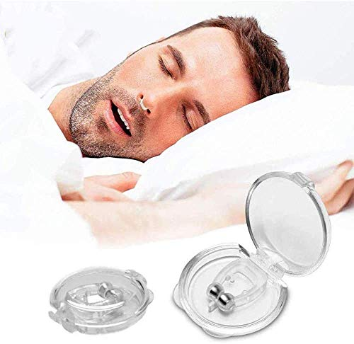 AZONIX® Snore Free Nose Clip | Unisex Stop Snoring Anti Snore Free Sleep Silicone Magnetic Nose Clip | Nose Clip | Anti Snoring device (PACK OF 1)