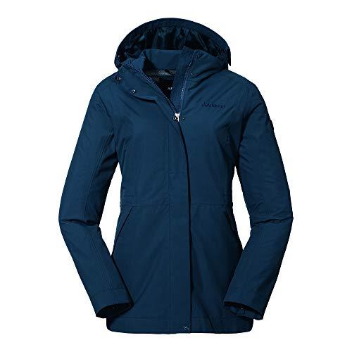 Schöffel Damen Jacket Eastleigh L winddichte, moonlit ocean, 40