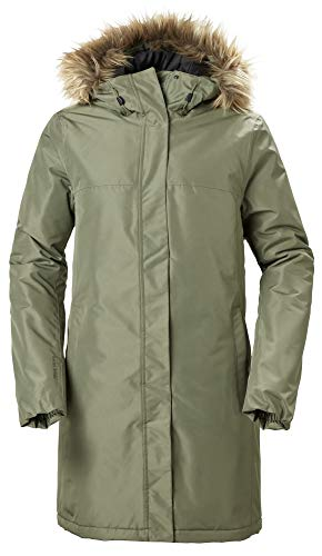 Helly Hansen Damen Aden Winter Parka, Grün, XS