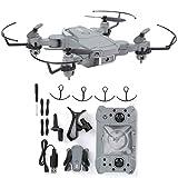 Bnineteenteam KY905 Mini Drone 4K Cámara de Alta definición Drones Plegables Niños Quadcopter Toy, Drone Plegable, Juguete para niños para Principiantes y entusiastas de la fotografía aérea