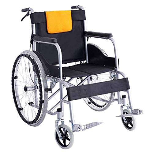 Rollstuhl for Behinderte und ältere Menschen faltbare Transport Rollstuhl mit 24