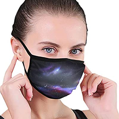 Unisex Outer Space And Galaxy Cosmos Panorama Mouth Mask Face Masks For Men Women