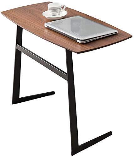 Nest Of Tables Mesa de centro blanca Mesas auxiliares Mesa para laptop Lapdesks Laterales de madera Hierro forjado Café Sala de estar Sofá Estante de almacenamiento redondo Extremo Escritorio de compu