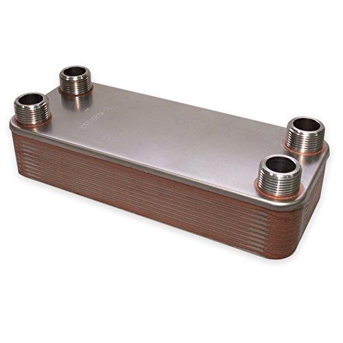Hrale Edelstahl Wärmetauscher 20 Platten max 115 kW Plattenwärmetauscher Wärmetauscher