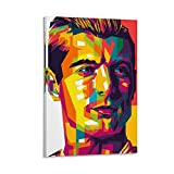 QWSDF Fußball-Toni Kroos in Farbe, Poster, dekoratives