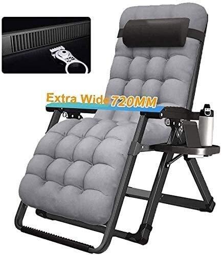 Aoyo - Sedia pieghevole regolabile per veranda, patio, giardino, patio, prato, supporto portatile per sedia portatile, 200 kg