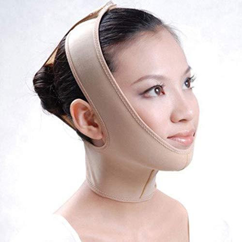 Mince Masque pour Le Visage, Visage V avec Soulèvement V Ligne Visage Bandage Visage Blush Slim Slim Menton Blush Masque Levage Menton Respirant (Taille : M)