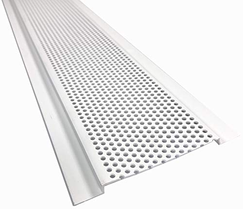 Continuous Soffit - 4300, 4' Vented Area, 8' Length, 10 Pieces per Box, PVC