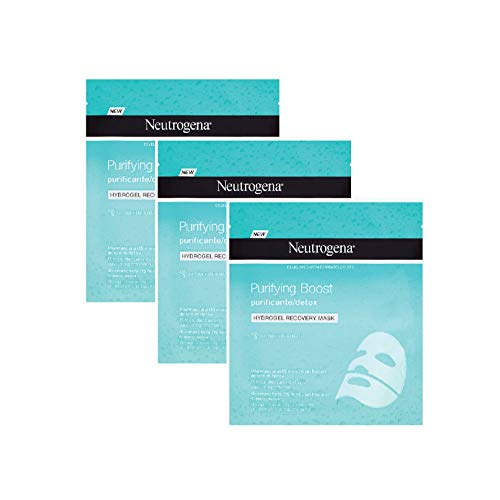 Neutrogena Hydrogel Mascarilla Purificante (3 Recipientes De 30 ml.)