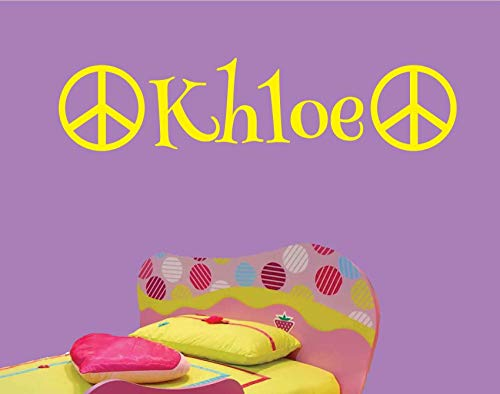 Khloe-Peace-Wall-Decal-Personalized-Room-Wall-Art-Custom-Name-Vinyl