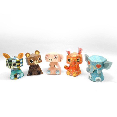 Papertoy - Paper figure Doll