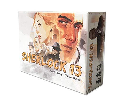 Asmodee Sherlock 13, Gioco da Tavolo, Investigativo, Edizione in Italiano, 7600, Colore