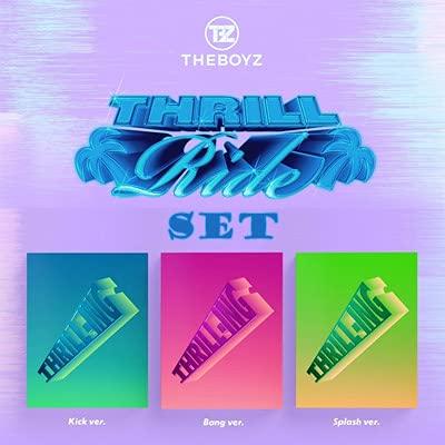 THE BOYZ (ザ・ボーイズ) - THRILL-ING (バージョン3種セット) ★★Kstargate限定★★