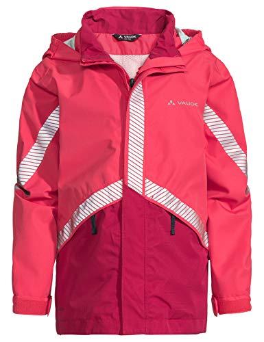 VAUDE Kinder Jacke Luminum II, Regene, bright pink, 122/128, 413909571280